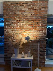 Ziegel Wand antike Ziegelsteine rustikal Klinker Backstein Verblender Fliese