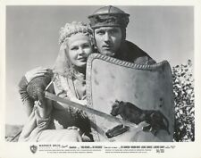 VIRGINIA MAYO LAURENCE HARVEY Vintage KING RICHARD AND CRUSADERS Portrait Photo