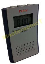 PETITE RADIO REVEIL DIGITAL POUR BUREAU AVEC HAUT PARLEUR