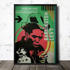 Barrington Levy Reggae Póster Jamaica Lee cero Perry Dancehall Bob Marley