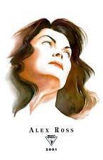 Lee's Comics ALEX ROSS fine art print #2 Wonder Woman, 2001