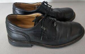Camel Active Gore Tex Men Leather Lace Up Black Formal  Shoes UK Size 9