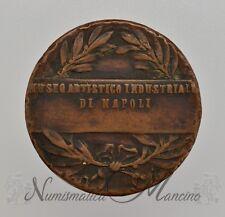 Medaglia Museo Artistico Industriale di Napoli