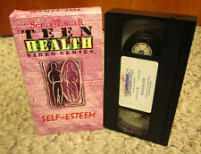 SELF-ESTEEM teen health documentary VHS parenting & social development anxiety