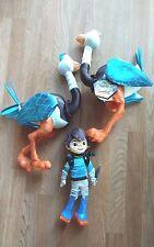 """Tomorrowland Plush Lot Miles & Merc The Ostrich Emu 18"""" Disney Boy"""
