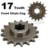 47cc 49cc T8F 8mm Mini Moto Dirt Bike 17 Tooth Front Pinion Sprocket Chain