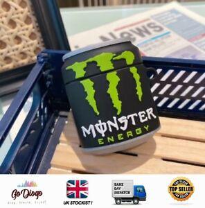 Novelty Monster Energy Drink Case For Apple Airpod 1/2  UK STOCKIST SELLER