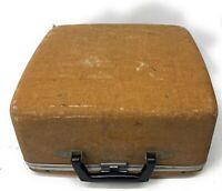 1954 Royal Quiet DeLuxe Portable Manual Typewriter w/ Manual & Hard Case