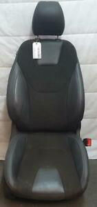 FORD MONDEO MD RH FRONT SEAT BLACK CLOTH/LEATHER, TREND, 09/14-06/20