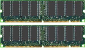 1GB KIT ( 512MB x2) PC133  PC-133 RAM SDRAM MEMORY TESTED