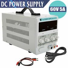 60V 5A Digital DC Power Supply Variable Adjustable Lab Bench Test Equipment Tool