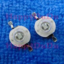 10pcs 3W Purple 415nm-420nm UV Power Ultra Violet LED Lamp Beads Light Aquarium