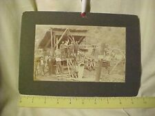 Grub Gulch California Mining Miners 19Th Century Photograph.The Grub Gulch Mine