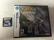 Pokemon: Diamond Version (Nintendo DS, 2007) GAME AND BOX ONLY NES HQ