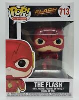 Funko Pop! TV: The Flash Fastest Man Alive #713 The Flash + Protector DAMAGED