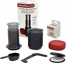 AeroPress Go Portable Travel Coffee Press, 1-3 Cups - Makes Delicious Coffee