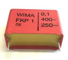 0 1uf 100nf 400v WIMA Condensatore P.22mm Fkp1-100n/400