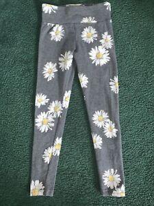 Girls size 7 Justice full length leggings
