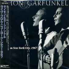 SIMON & GARFUNKEL Live from New York City, 1967 Japan Mini LP CD (BSCD2)