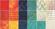 """The Sweet Life Batiks by Moda 40 5"""" Charm Pack 100% Cotton by Pat Sloan 43057PP"""
