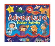 Adventure Sticker Activity Carry Case with 4 Sticker Books - Over 500 Stickers