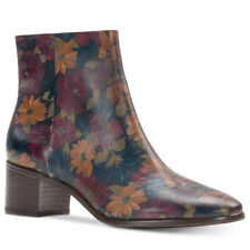 PATRICIA NASH Peruvian Painting Painted Floral Print MARCELLA Ankle Boot 7 NEW!
