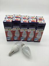 Maxim 25w Led Daylight SES CANDLE 1,2,4,6 OR 10 BULBS