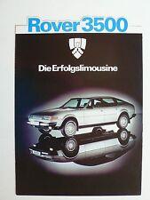 Prospekt Rover SD1 3500, 1.1979, 4 Seiten