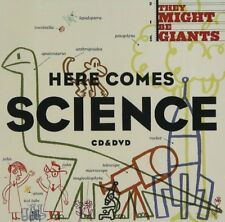 THEY MIGHT BE GIANTS CD - HERE COMES SCIENCE [CD/DVD](2009) - NEW UNOPENED