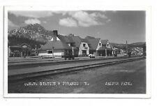 JASPER, ALBERTA C. N. R. Train Station, Jasper Park Circa 1946