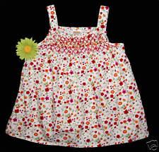 Gymboree Ladybug Floral Print Smocked Swing TOP 5