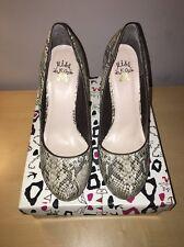Miss KG Kurt Guiger Eden Faux Snakeskin Court Shoe Heels EUR Size 39 U.K. 6