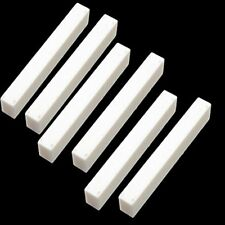 Nuts 6Pcs Bone Guitar Blank For Electric Bass Acoustic Classical Mandolin Banjo