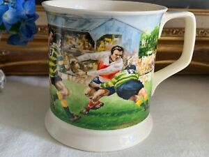 Past Times Rugby Mug in Excellent Used Condition