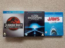 Steven Spielberg UK Blu-ray bundle - Jaws Close Encounters Jurassic Park Trilogy