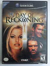 WWE: Day of Reckoning (Nintendo GameCube, 2004) TESTED