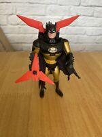 Vintage DC Batman Animated Series Knight Star Batman Action Figure Kenner 1993