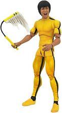 "DIAMOND SELECT TOYS Bruce Lee (Yellow Jumpsuit Version) 7"" Action Figure / NIB"