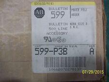 ALLEN BRADLEY 599-P3B CRIB $
