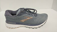 Brooks Adrenaline GTS 20 Running Shoes, Grey/Pale Peach, Women's 9 M