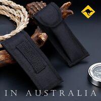 Black Nylon Knife Sheath For Folding Pocket Knife or Multi Tool Pouch Case  🦘