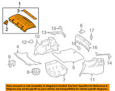 MERCEDES OEM 12-15 C350 INTERIOR-REAR BODY-Package Tray Trim 20469025499G86