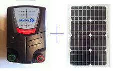 Nemtek Electric Fence Energiser 2J 20km with 10w Solar Panel + Remote control