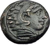 ALEXANDER III the Great 325BC Macedonia Ancient Greek Coin HERCULES CLUB i65138