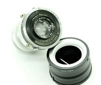 Vintage Carl Zeiss Jena Tessar 4.5/10.5cm LENS Modified by M42/Sony E-mount