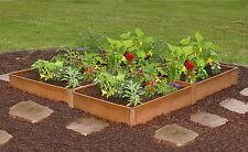 Raised Garden Bed Kit 5' x 5' Four Square Planter Kit Vegetable Gardening