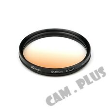 58mm Diameter Optical Gradual Brown Lens Filter For Samsung Leica Zeiss Fujifilm