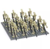 100x Battle Droid Figures (LEGO STAR WARS Compatible)