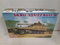 Dragon 1/35 Kit #6248 Sd.Kfz. 251/22 Ausf. D SP Gun Semi-Track