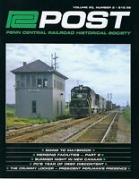 PC Post: 2nd Qtr 2019 - PENN CENTRAL Railroad Historical Society - NEW Issue